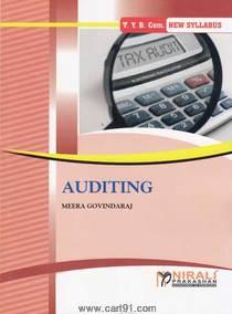 Bcom third year Auditing